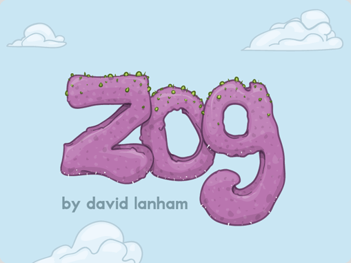 David Lanham 187 Zog My First Vinyl Toy