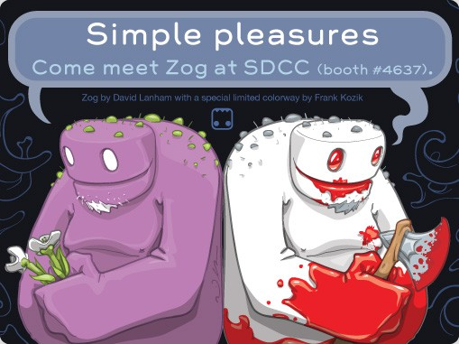 Zog at SDCC