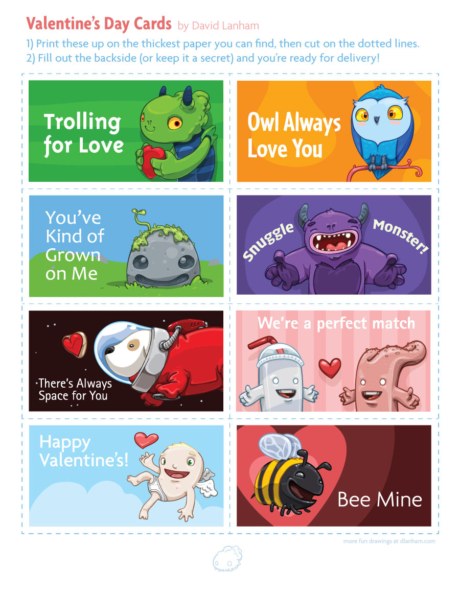Valentine Cards For Friends Printable Valentine Day – Valentines Cards for Friends