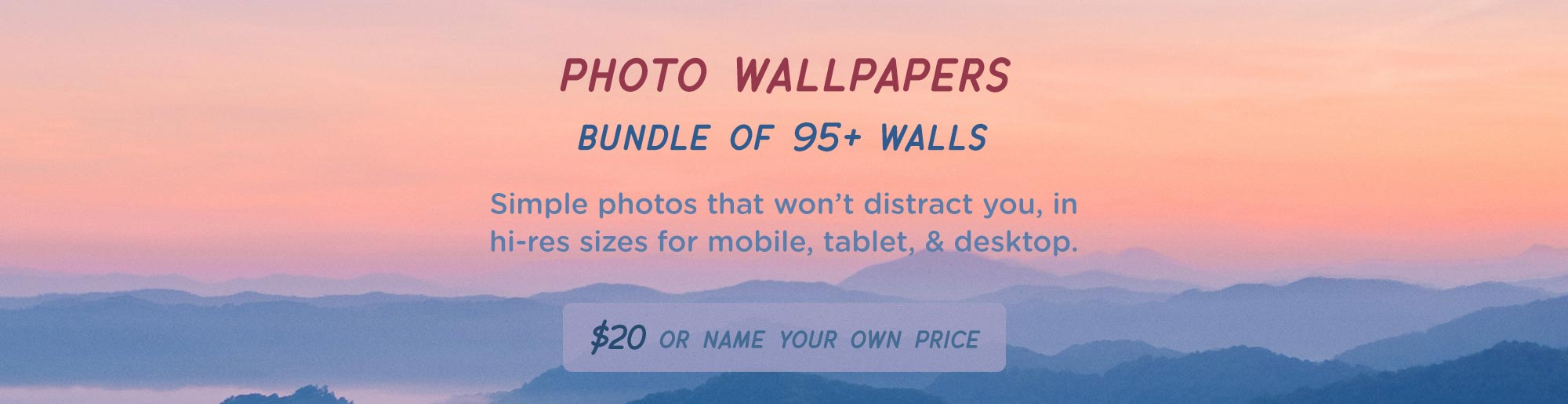 Photo Wallpaper Bundle